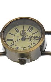 Unissex relógio mecânico Automático - da corda automáticamente Lega Banda Preta Bronze