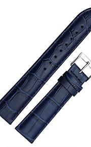 homens / bandas women'swatch couro genuíno relógio 20 milímetros acessórios