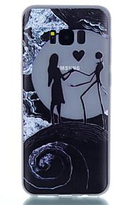 Per Fosforescente Fantasia/disegno Custodia Custodia posteriore Custodia Paesaggi Morbido TPU per SamsungS8 S8 Plus S7 edge S7 S6 edge