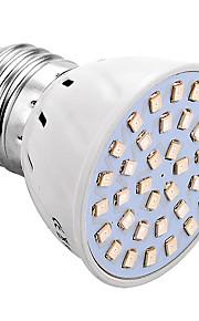 3W E26/E27 LED 글로우 조명 36 SMD 2835 150-250 lm 블루 레드 V 1개