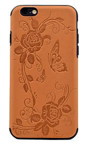 Per Decorazioni in rilievo Fantasia/disegno Custodia Custodia posteriore Custodia Farfalla Morbido Similpelle per AppleiPhone 7 Plus