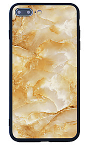 För Mönster fodral Skal fodral Marmor Hårt Akrylfiber för Apple iPhone 7 Plus iPhone 7 iPhone 6s Plus/6 Plus iPhone 6s/6 iPhone SE/5s/5