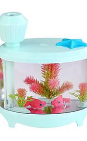 Mini Aquarium Fish Tank LED Colorful Light Humidifier USB