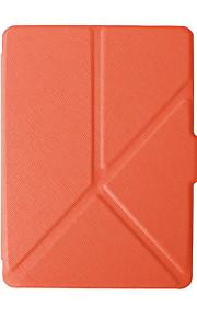 nieuwe aankomst magnetische lederen case cover voor Amazon Kindle voyage 6 inch ereader stand case