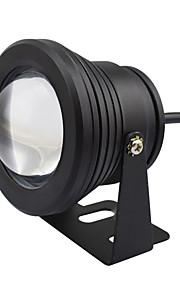10w llevó la lámpara bajo el agua IP68 cálida luz de la fuente de temporización de color pool de funciones estanque de peces de acuario