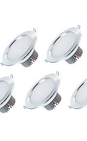 5pcs 3w 2,5 abajo de la lámpara luz caliente / frío blanco empotrada en el techo downlight llevado para el hogar y la tienda