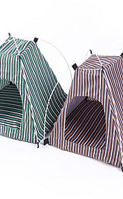 Chat Chien Tente Pliable Tente Vert Jaune Tissu