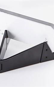tablet stand Kunststof Bureau tablet houder Vouwen verstelbare Flexibele Draagbaar Zwart