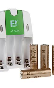 fb FB18 aa NiMH oplaadbare batterij 1.2V 2500mAh 4 stuks