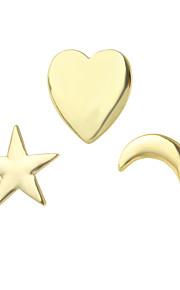 Brocher Legering Gylden Smykker Afslappet