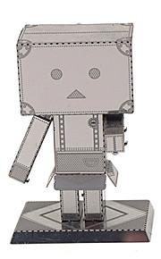 DIY-setti Metalliset palapelit Gift Rakennuspalikat Rakennuslelu Robotti Metalli 14 vuotta ja enemmän Vaaleanpunainen Lelut