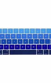 xskn® inglese gradiente tastiera in silicone pelle e protettore touchbar per il 2016 più nuovo MacBook Pro 13.3 / 15.4 con touch bar