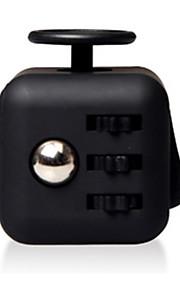 Brinquedos velocidade lisa cubo novidade stress relievers cubo mágico preto / plástico