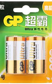 gp gp14au-2il2 c alikaline batterij 1.5v 2 Pack