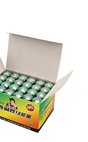 5 alkaliskt LR6 batteri AA 24 tabletter laddade leksaker fjärrkontroll mus klocka tangentbord batteri