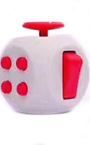 Brinquedos Cubo Macio de Velocidade Cube Fidget Novidades Alivia Estresse Cubos Mágicos Vermelho Cinzento Plástico