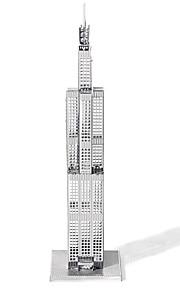 3D palapeli Metalliset palapelit Gift Rakennuspalikat Kuuluisa rakennus Arkkitehtuuri Metalli 14 vuotta ja enemmän Vaaleanpunainen Lelut