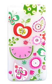 For Rhinsten Lyser i mørket Syrematteret Gennemsigtig Mønster Etui Bagcover Etui Frugt Blødt TPU for HuaweiHuawei P9 Lite Huawei P8 Lite