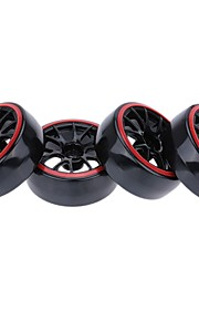 Geral RC Tire Pneu RC Carros / Buggy / Caminhões Borracha pet Plástico