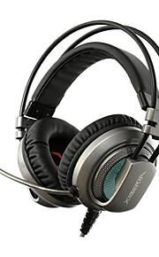 xiberia v10 gaming koptelefoon met microfoon computer headset met microfoon pc gamer usb geleid gaming koptelefoon hoofdband