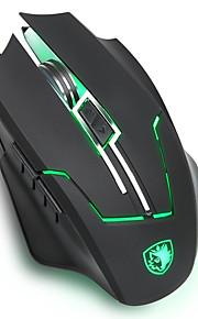 人間工学的マウス形状レーザトラッキング最高レベル2400dpiのとsades Q7のゲーミングマウス