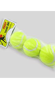 Dog Toy Pet Toys Ball Tennis Ball Rubber 3pcs