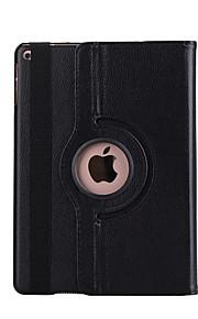Pour Avec Support Veille/Déverrouillage Automatique Clapet Rotation 360° Coque Coque Intégrale Coque Couleur Pleine Dur Cuir PU pour Apple