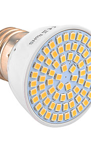 7W E26/E27 LED-spotpærer 72 SMD 2835 500-700 lm Varm hvit Kjølig hvit Naturlig hvit Dekorativ V 1 stk.