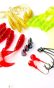 1 pcs Fishing Lures Soft Bait Random Colors g/Ounce mm inch,Plastic General Fishing
