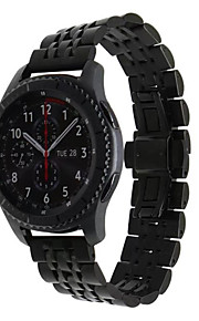 for Samsung Gear s3 klassiske grensen 22mm rustfritt stål watchband quick release pins se bandet håndleddstropp lenke armbånd