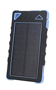 8000mAhmAh전원 은행 외부 배터리 태양열 충전 플래쉬 라이트 8000mAh 1000mA 태양열 충전 플래쉬 라이트