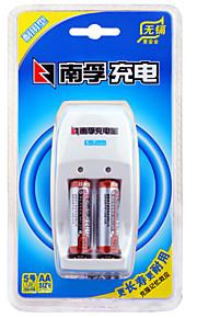 Nanfu aa nichel-idruri metallici batteria ricaricabile 1.2v 1600mAh 2 pezzi