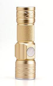 Lanternas LED LED Lumens 3 Modo Cree XP-E R2 Foco Ajustável Recarregável Tamanho Compacto Tamanho PequenoCampismo / Escursão /