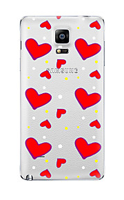For Samsung Galaxy Note5 Note 4 Pattern Case Back Cover CaseHeart  TPU Samsung  Note 3 Note2
