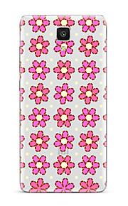 Til Gjennomsiktig Mønster Etui Bakdeksel Etui Blomst Myk TPU til XiaomiXiaomi Mi 5 Xiaomi Mi 4 Xiaomi Mi 5s Xiaomi Mi 5s Plus Xiaomi Mi 3