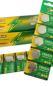 CR2032 Coin & Button Cell Lithium Battery 3V 170mAh 30 Pack
