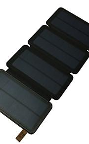 12000mAh전원 은행 외부 배터리 태양열 충전 멀티 출력 플래쉬 라이트 12000 2000 태양열 충전 멀티 출력 플래쉬 라이트