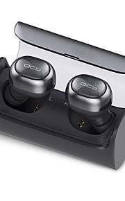QCY Q29 mini dual v4.1 bluetooth hoofdtelefoon met oplaadcassette 12 uur stereo muziek tijd ingebouwde microfoon voor iPhone en 7 Samsung