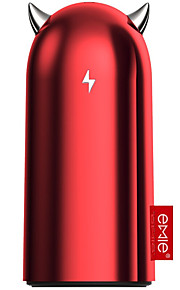 emie5200mAh power bank  2.1A external battery with Cable Flashlight