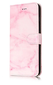 For iPhone 7Plus 7 PU Leather Material Double Sided Marble Pattern Painted Phone Case 6s Plus 6Plus 6S 6 SE 5s 5 5C