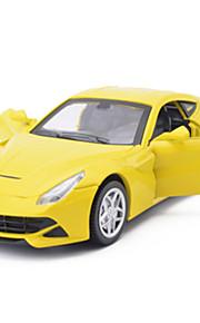 Macchina da corsa Veicoli a molla Giocattoli Car 1:28 ABS Rosso Giallo