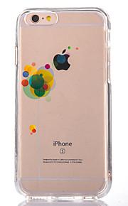 För Genomskinlig Mönster fodral Skal fodral Ballong Mjukt TPU för AppleiPhone 7 Plus iPhone 7 iPhone 6s Plus iPhone 6 Plus iPhone 6s