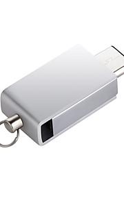 Impermeable tipo-c usb 3.0 unidad flash 16gb disco de memoria flash para el tipo c macbook air smartphone&Tablet 64gb