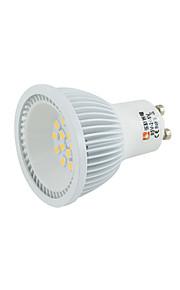 5W E14 GU10 GU5.3(MR16) GX5.3 B22 E27 LED-spotpærer MR16 15 2835 SMD 2835 300-350 lm Varm hvit Kjølig hvit Naturlig hvit Rosa DC 12 AC 12