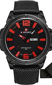 Masculino Relógio Esportivo Relógio Militar Relógio Elegante Relógio de Moda Relógio de Pulso Relógio Casual Japanês QuartzoCalendário