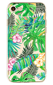 For Apple iPhone 7 7 Plus 6S 6 Plus Case Cover Flower Pattern Painted High Penetration TPU Material Soft Case Phone Case