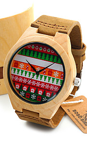 Masculino Relógio de Moda Relógio de Pulso Único Criativo relógio Relógio Casual Relógio Madeira Japanês Quartzo Quartzo Japonêsde