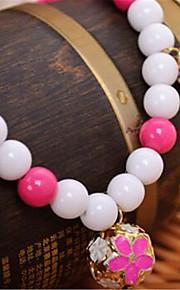 Hunde Halsketten Hundekleidung Sommer Perle Niedlich