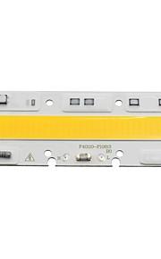 スマートic ledコブ50wのDIY屋外スポットライト洪水のためのc220v 230vランプライトコールド/暖かい白(1個)