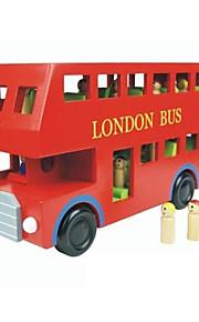 Byggeklosser Pedagogisk leke som Gave Byggeklosser Modell- og byggeleke Buss Tre 2 til 4 år 5 til 7 år Leketøy